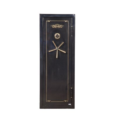 Hollon Safe Republic Series 1Hr Fireproof Dial Lock Gun Safe