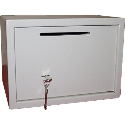 Hollon Safe Drop Slot Safe with Key lock