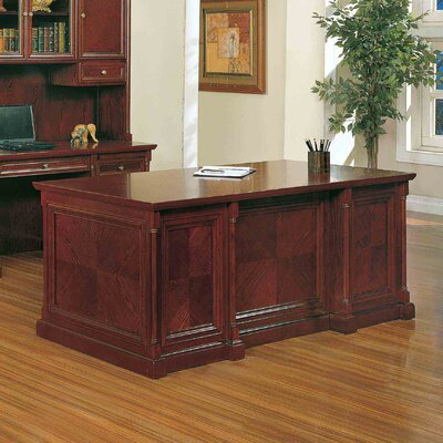 Absolute Office Birmingham Executive Desk with Center Drawer