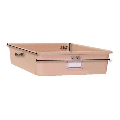 Shirley K's Storage Totes and Trays Wide Rectangular Storage Tray