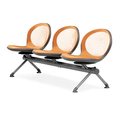 OFM Net Series Mesh Three Chair Beam Seating