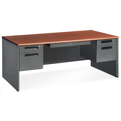 "OFM Mesa Series 36.25"" Executive Panel End Computer Desk"