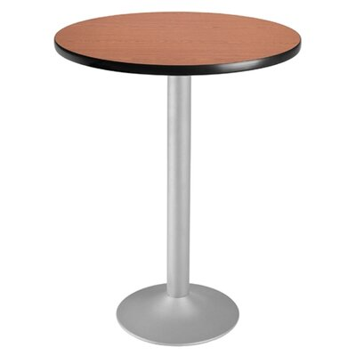 "OFM Cafe 41.5""x 30"" Round Folding Table"