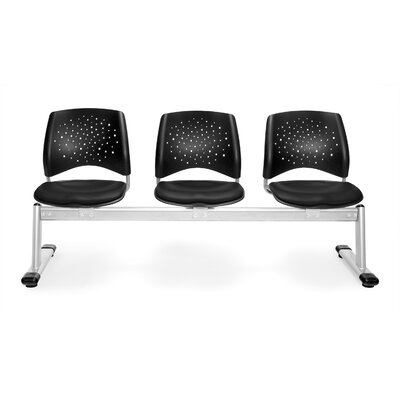 OFM Star Three Chair Beam Seating