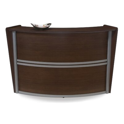 OFM Single Unit Curved Stylish Reception Station