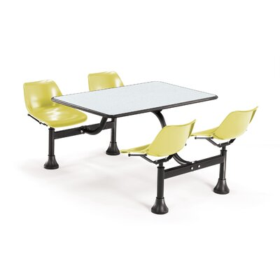 "OFM Group/Cluster Table and Chairs 65"" x 48"" Picnic Table"