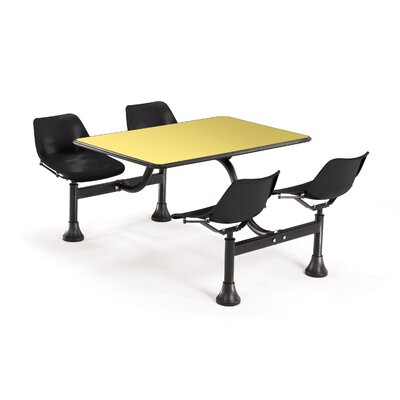 "OFM 24"" x 48"" Group/Cluster Table and Chairs with Laminate Tops"