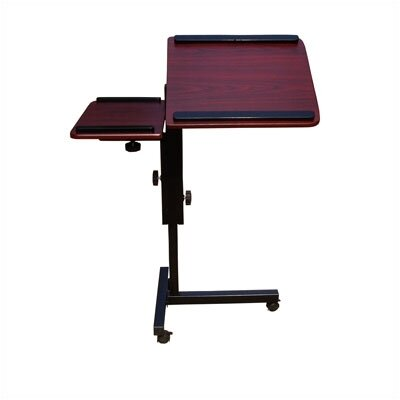 "OFM Mobile Laptop Stand 36"" W x 18"" D Computer Table"