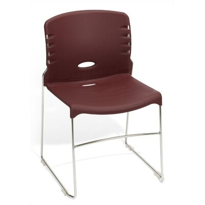 "OFM 18"" Plastic Classroom Armless Stack Chair"