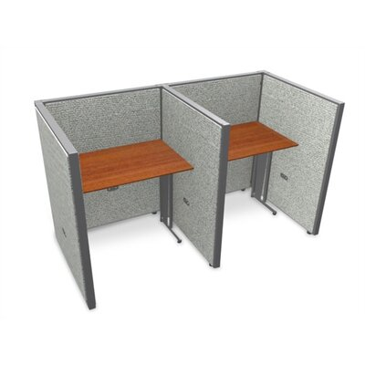 OFM Privacy Station Panel System 2x2 Configuration