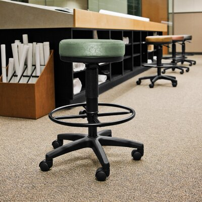OFM Height Adjustable Anti-bacterial Anti-microbial Utilistool with Drafting Kit