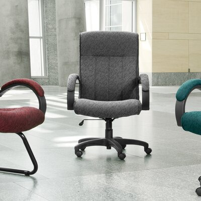 OFM High-Back Upholstered Executive Conference Chair with Arms