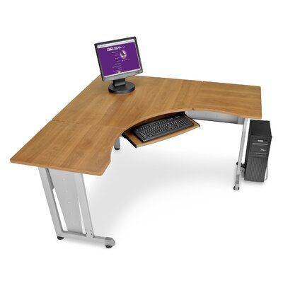 "OFM 60"" x 24"" L-shaped Workstation"