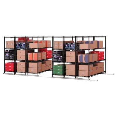 "OFM X5 Lite 74"" H 3 Shelf Shelving Unit Starter"