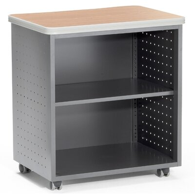 OFM 27.50'' x 20'' Mobility Utility Table with Shelf