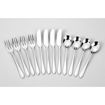 Ginkgo Stainless Steel Linden 12 Piece Accessory Set