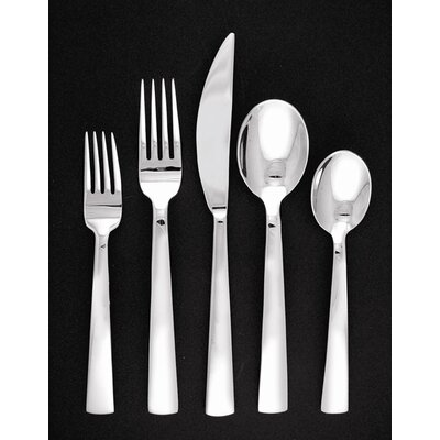 Ginkgo Burton 5 Piece Flatware Set