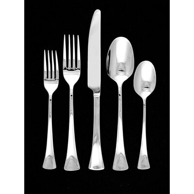 Ginkgo Stainless Steel Woodruff 4 Piece Hostess Set