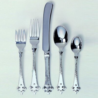 Crusader 45 Piece Flatware Set