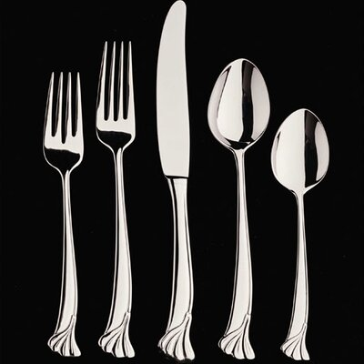 Ginkgo Leaf 20 Piece Flatware Set