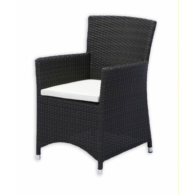 Source Outdoor St. Tropez Dining Arm Chair with Cushion