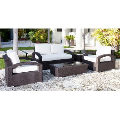 Source Outdoor Como Lago Deep Seating Group with Cushions