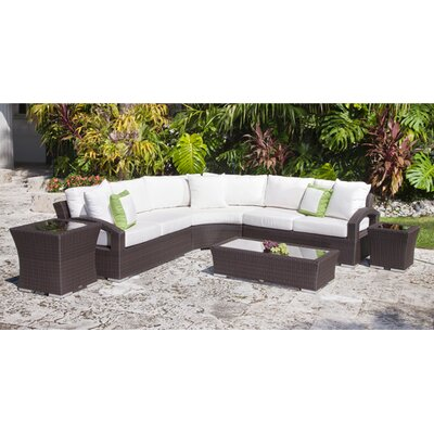 Source Outdoor Como Lago Sectional Sofa