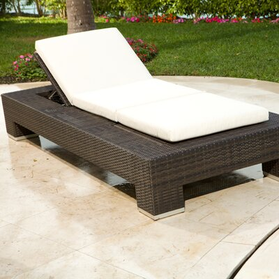 Source Outdoor King Chaise Lounge with Cushion