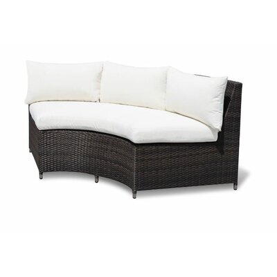 Source Outdoor Circa Round Sofa with Cushions