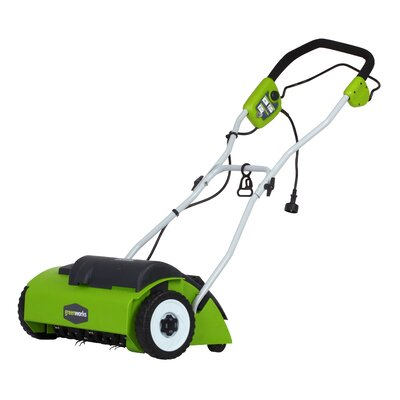 GreenWorks Tools 10A Electric Dethatcher