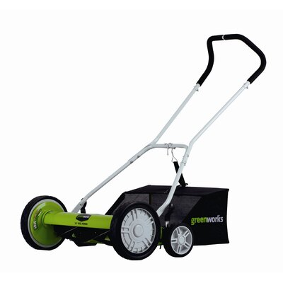 "GreenWorks Tools 18"" Reel Mower"