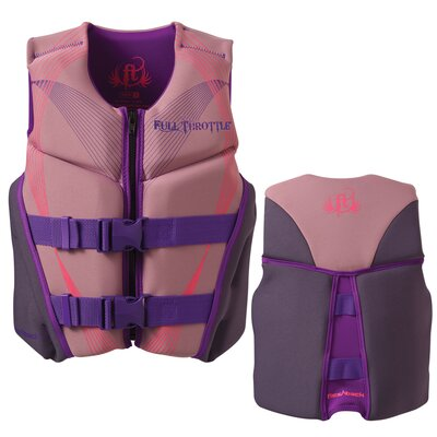 Neoprene Flex-Back Youth Life Vest