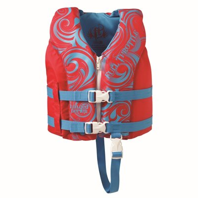 Full Throttle Child Hinged Water Sport Vest