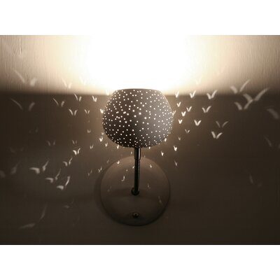 Lightexture Claylight Sconce with Touch Dimmer