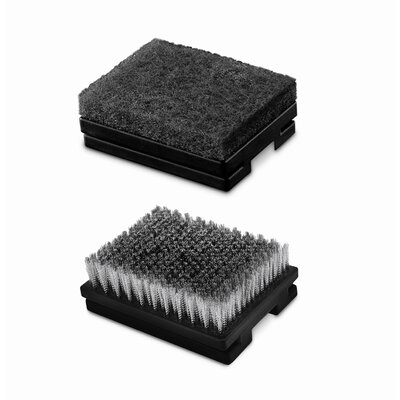 Weber Heavy-Duty Grill Brush Replacement Head (Set of 2)
