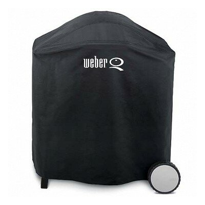Weber Q Premium Vinyl Cover Fits with Q300 Gas Grills