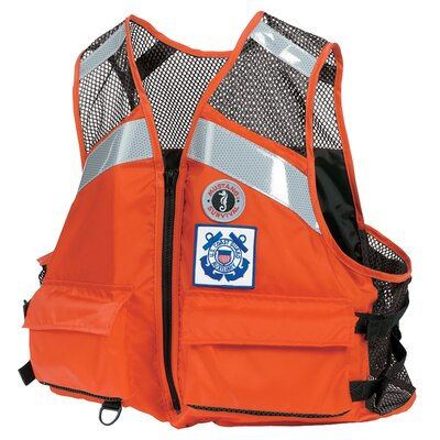 Mustang Survival Industrial Mesh Type III Flotation Vest