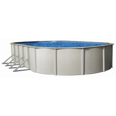 "Backyard Leisure by Wilbar Impressions 52"" Above Ground Pool Package"