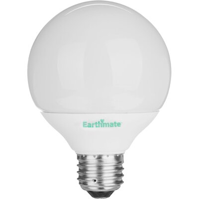 Earthmate 14 Watt Covered A Fluorescent  Light Bulb