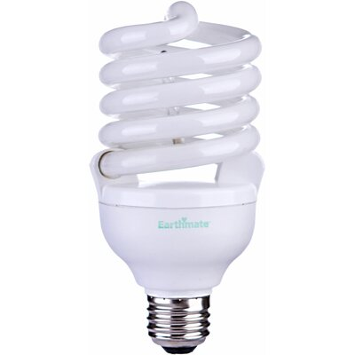 Earthmate 40 Watt Spiral Compact Fluorescent Light Bulb