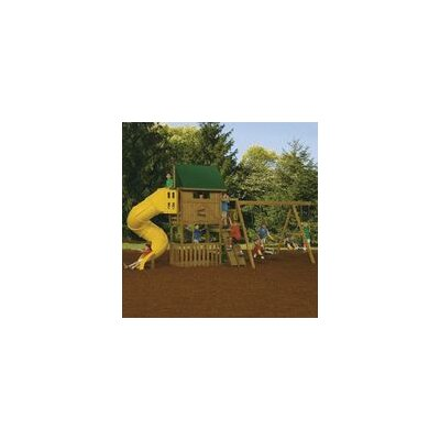 "Playstar Inc. 132"" x 144"" Great Escape Swing Set"