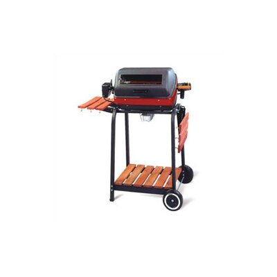 Meco 9000 Series Deluxe Cart Electric Grill with Rotisserie