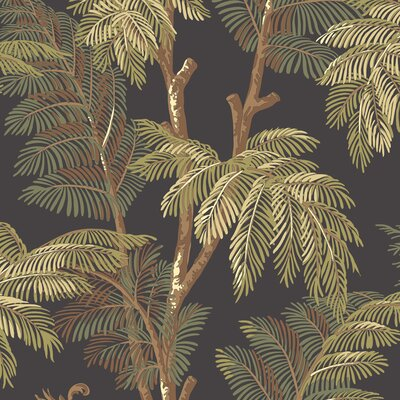York Wallcoverings Tommy Bahama Archival Palm Tree Wallpaper