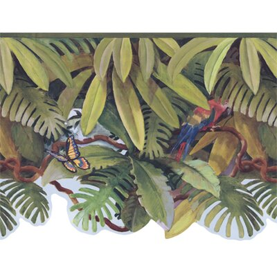 York Wallcoverings York Kids IV Jungle Treetop Wallpaper Border