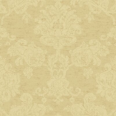 Proper English Hand Block Damask Wallpaper