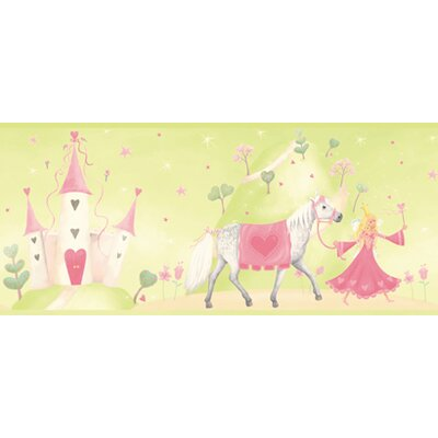 York Wallcoverings York Kids IV Princess Castle Border