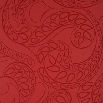 Barbara Becker Raised Surface Tear Drop Paisley Wallpaper