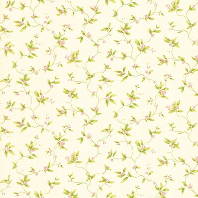 York Wallcoverings York Kids IV Small Berry Vine Wallpaper