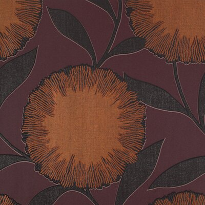 Barbara Becker Raised Surface Dandelion Powder Puff Floral Wallpaper