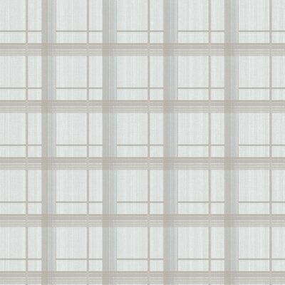 York Wallcoverings Tommy Bahama Plaid Unpasted Wallpaper